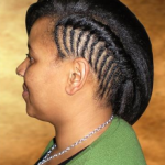 relaxed flat twists