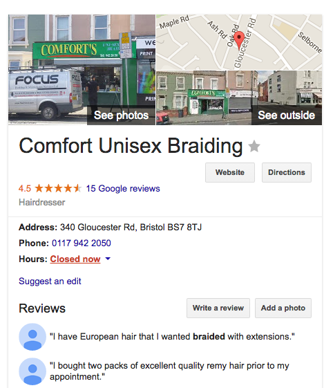 Comforts_Google_Customer_Reviews